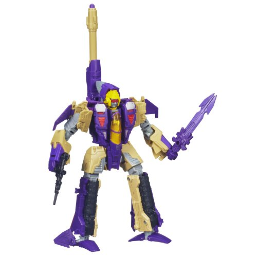 Raw Transformer - Transformers Generations Voyager Class Blitzwing Figure