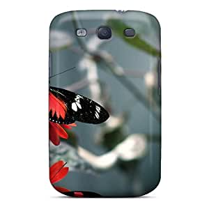 Shockproof Hard Cell-phone Case For Samsung Galaxy S3 With Custom Attractive Butterfly Pattern ErleneRobinson