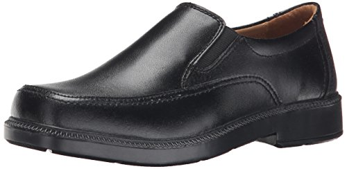 - Florsheim Kids  Bogan JR  Uniform Slip-on (Little Kid/Big Kid), Black, 5 M US Big Kid