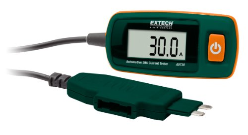 Automotive 30A Current Tester with ATC Connector - EXTECH AUT30