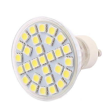 eDealMax GU10 29LEDs SMD5050 5W de cristal ahorro de energía LED de la lámpara del bulbo
