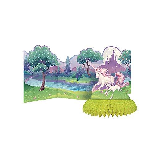 Creative Converting Unicorn Fantasy Honeycomb