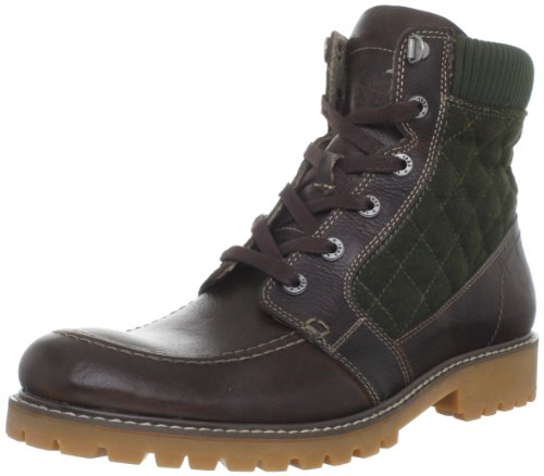 1883 by Wolverine Mens Birch Boot Tan/Forest Green