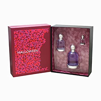 jesus del pozo halloween perfume 3 piece gift set for women eau de toilette spray - Halloween Purfume