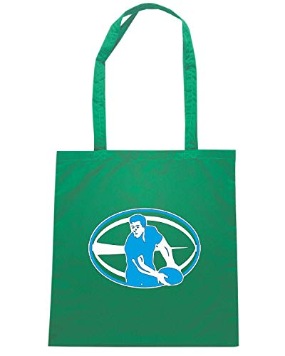 Verde TRUG0179 RUGBY Speed Shopper PLAYER Shirt Borsa q6wFT