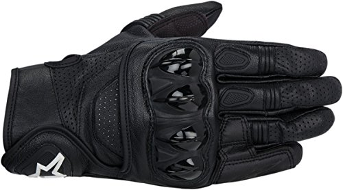 - Alpinestars Celer Men's Leather Street Racing Motorcycle Gloves - Black/3X-Large