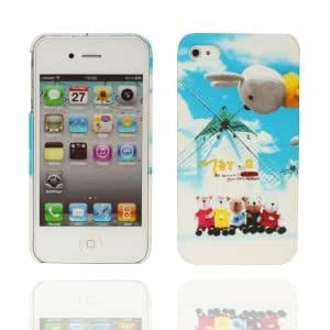 Windmill Pattern Hard Plastic Case for iPhone 4