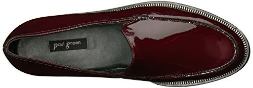 Paul Green Womens Jojo Loafer Bordo Brevetto