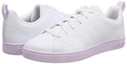 Adidas Blanco ftwwht De Advantage Mujer W Para Zapatillas 000 Vs ftwwht Cl aerpnk Deporte ZqzpwrZ