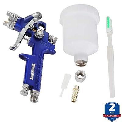 Oranges Autoparts HVLP Air Spray Gun Set Mini Spray Paint Gun 1.0mm (125ml)- from: Automotive