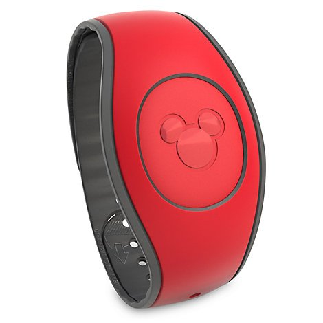 Disney Parks MagicBand 2.0 - Link It Later Magic Band (Red)