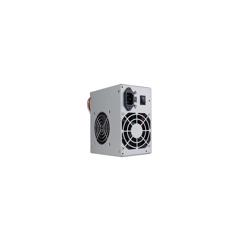 PoWork 600 Watt 20+4 Pin Dual Fan SATA/ATX Power Supply