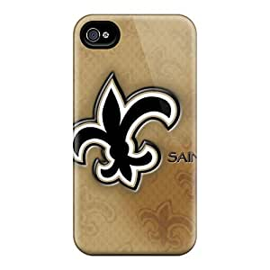 DannyLCHEUNG Iphone 6plus Comfortable Phone Hard Covers Customized Vivid New Orleans Saints Pattern [ffn6719HlmC]