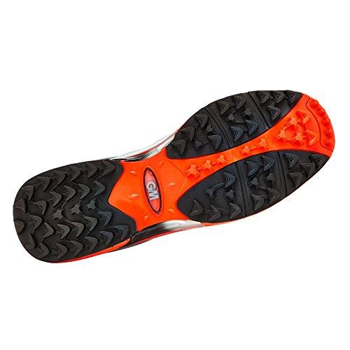 Multicolore Rounder White Moore Mixte All Original Adulte amp; Red de Gunn Chaussures Orange Cricket 5IvqOw