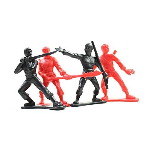 4 Ninja Cake Toppers. Ninja Toy Men. Boys Ninja Birthday Kids Party Decorations. Ninja Men Cake Toppers Playset]()