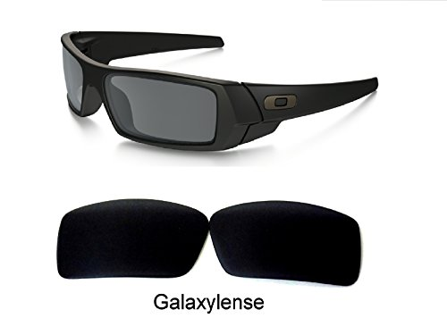 Galaxy Replacement lenses For Oakley Gascan Polarized Black 100% - Gascan Oakley Sunglasses Lenses
