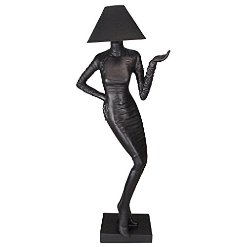 Design Toscano Mademoiselle Haute Couture Floor Lamp - Couture 1 Light