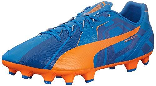 Puma Mens Evospeed 4 H2H FG Soccer Shoe, Orange Clown Fish, 46 D(M) EU/11 D(M) UK