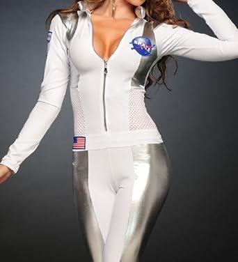 3WISHES u0027Sexy Astronaut Costumeu0027 Sexy Female Astronaut Halloween Costume & Amazon.com: 3WISHES u0027Sexy Astronaut Costumeu0027 Sexy Female Astronaut ...