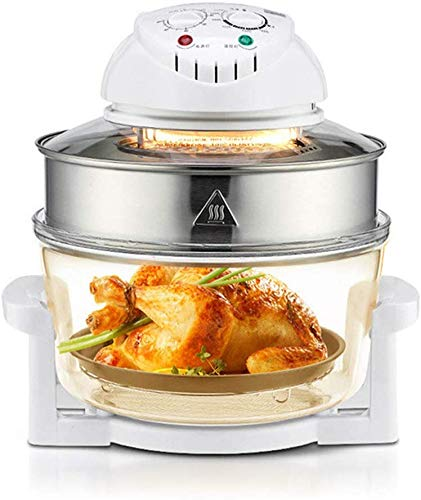 LNDDP Multifunction Air Fryer, Universal Infrared Convection Oven, Stainless Steel, No-Smoke, Healthy Cooking, Suitable for Chicken, Steak, Ribs, Fish, Shrimp, etc (Difference Between Air Fryer And Convection Oven)