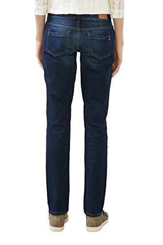 edc by ESPRIT 106cc1b010, Jeans Mujer Azul (Blue Dark Wash)
