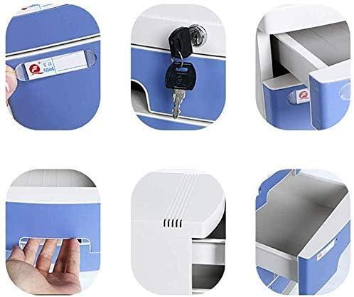 ファイルキャビネットパーソナルキャビネットストレージボックス情報オフィス家具アーカイブキャビネットロック引き出しタイプ大容量プラスチックマテリアルストレージボックス(色:ピンク)