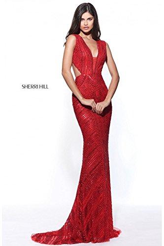 sherri-hill-51245-beaded-plunge-neck-open-back-long-gown-us4-uk8-red