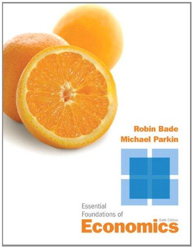 Essential Foundations of Economics (6th Edition)
