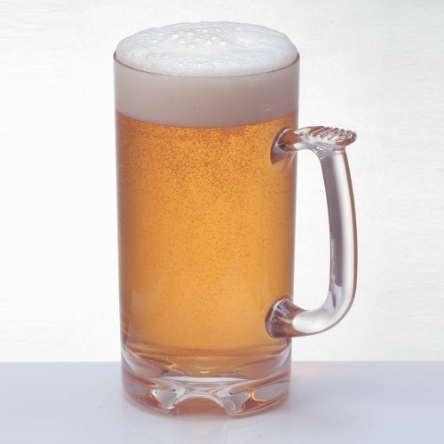 Polycarbonate Beer Mug Set of Two, 34oz