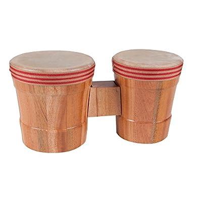 Westco Junior Bongo Drum Set (12 x 6 x 5.5/12 x 5 x 5 inches; Age 3+): Toys & Games