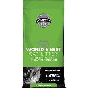 World's Best Cat Litter, Clumping Litter Formula, 28-Pounds 11