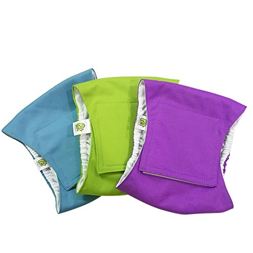 Pet Magasin Washable Belly-Wrap Diapers for Male Dogs (3-Pack)