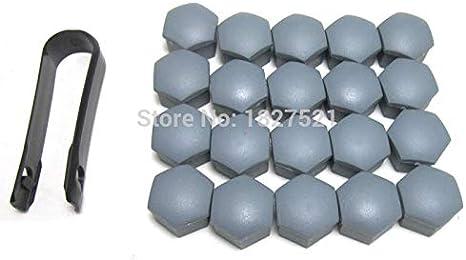 20Pcs For Audi A4 A6 Q3 Q5 For Skoda Fabia Octavia For Seat Gray Wheel Nut Lug Bolt Cover Caps 321601173A - - Amazon.com