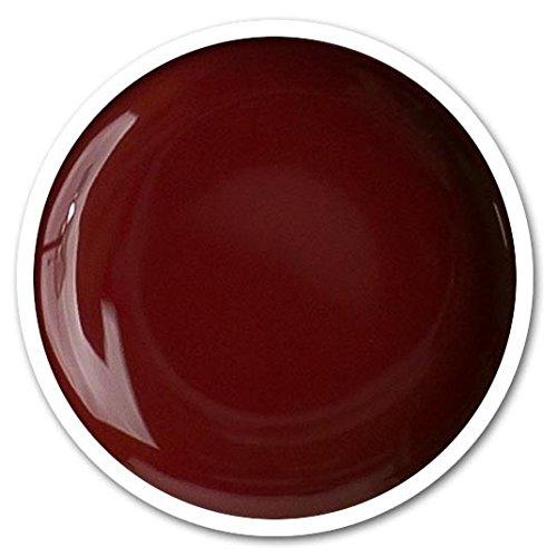 GEL COLOR UV CLASSIC LINE - Nº 77 - ROJO OSCURO - GRANATE - 5ml - UÑAS DE GEL - Blucc Style - LÁMPARA