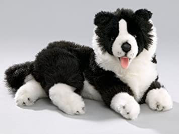 Amazon Com Bocchetta Plush Toys Border Collie Dog Soft Plush Toy