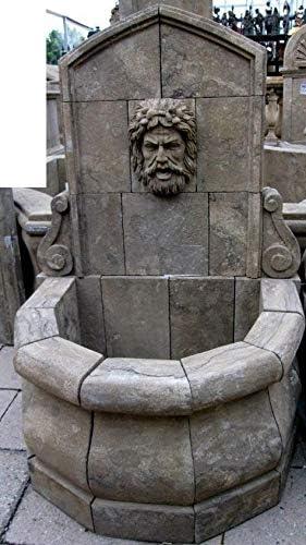 Casa Padrino Fuente de jardín de Piedra de Estilo Antiguo H100cm Neapel - Fuente de Piedra Decoración de jardín de Estilo Art Nouveau Barroco: Amazon.es: Jardín