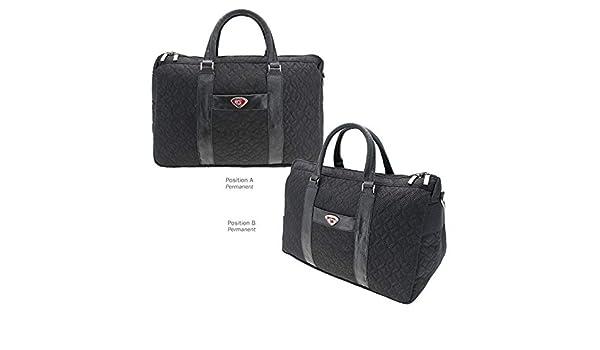 Black One Size AdSpec NCAA South Carolina Fighting Gamecocks Collegiate Womens Duffel BagCollegiate Womens Duffel Bag
