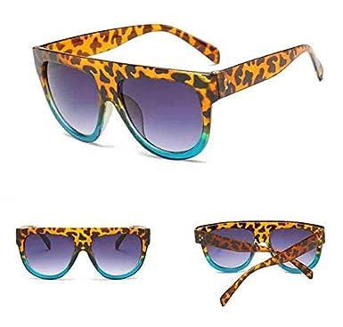 WEI MOLO Women Vintage Sunglasses,Polarized Retro Eyewear,Oversized Goggles Fashion Ladies Sunglasses