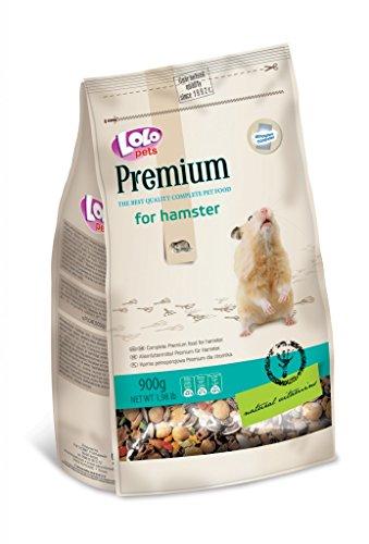 Premium Hamster Food (Lolo Pets Premium Complete Pet Food for Hamster, 900g)