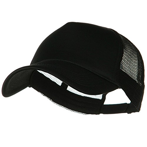 e4Hats.com Big Foam Mesh Truck Cap - Black OSFM