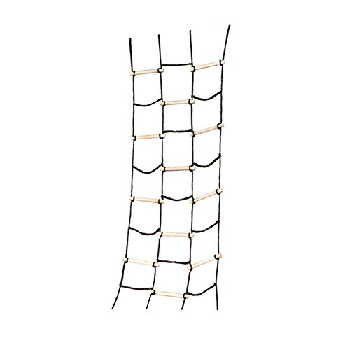 (Climbing Cargo Net for Kids Outdoor Play Sets, Jungle Gyms, SwingSets and Ninja Warrior Style Obstacle Courses)