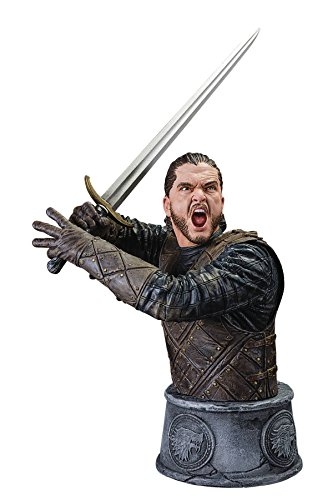 Dark Horse Deluxe Game of Thrones: Jon Snow Battle of the Bastards Limited Edition Bust Action (Limited Edition Bust)