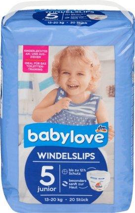babylove Pants pañales adultos (tamaño 5, junior 13 – 20 kg, ...