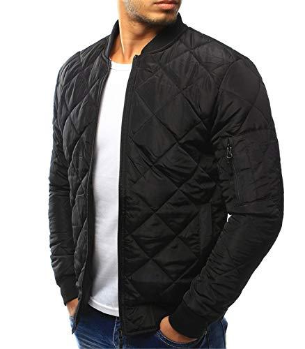 Men's Stand Collar Fashion Cotton Pilot ()