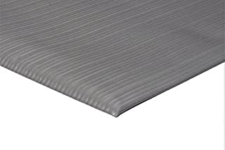 """product image for APACHE MILLS - 3/8"""" Soft Foot Grey-Standard Emboss 2.2' x3' Anti-Fatigue Matting"""