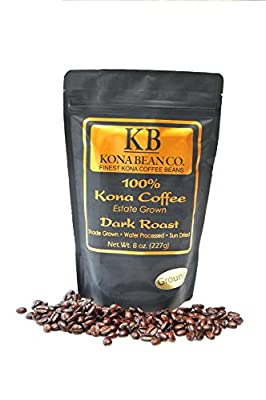 Kona Bean Co. 100% Kona Coffee Estate Grown - Dark Roast - Ground 8oz by Kona Bean Co.