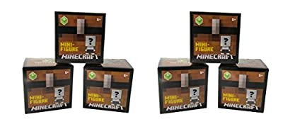 Minecraft Unlimited Mini Figure Chest Series 1 (6 Blind Boxes) by Mattel