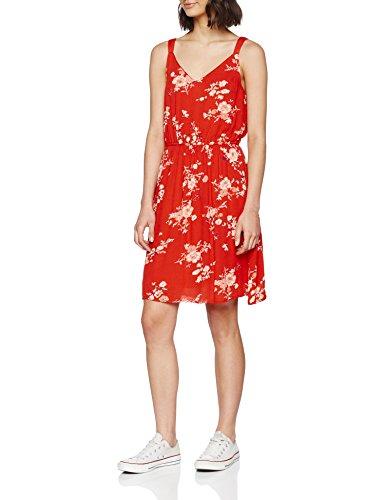 Red red L Multicolore Robe Flower Dress Print Risk Femme High Aop ONLY WVN S Noos Onlkarmen AOP NOS Short qAPxtH6aw