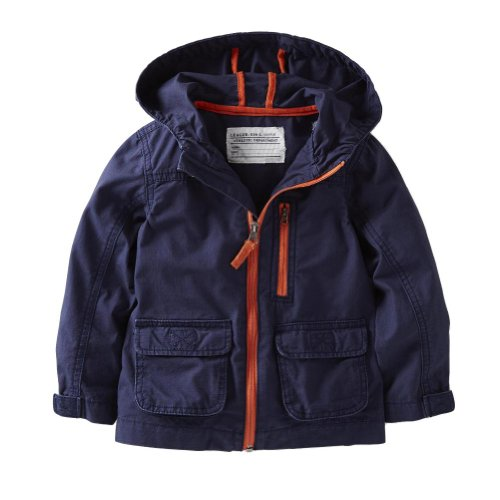 p Windbreaker Jacket (24 Months, Navy) (Carters Toddler Boys Pull)