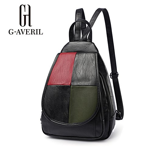 G-AVERIL GA1162-B1 - Bolso mochila  para mujer Black1 Black1